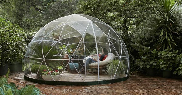 Amazon Is Selling an Enormous Outdoor Garden Dome & We Want In