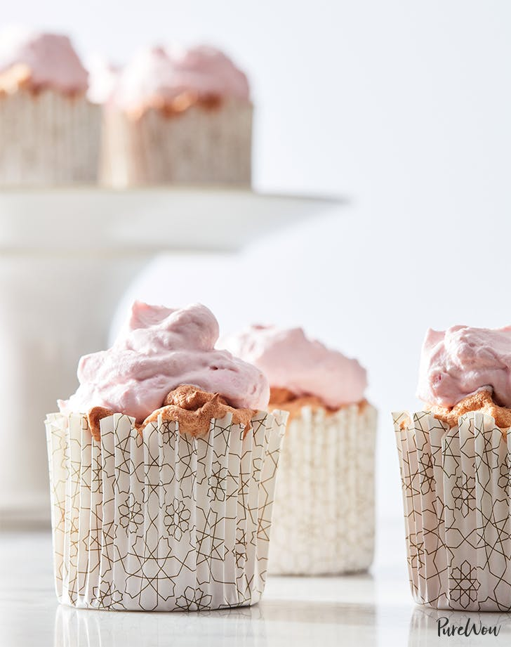 30-Minute Angel Food Cupcakes