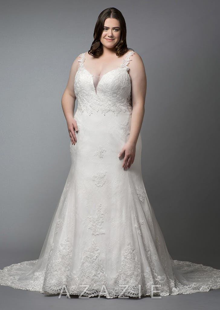 340b68e12c7a The Best Places to Buy a Plus-Size Wedding Dress - PureWow