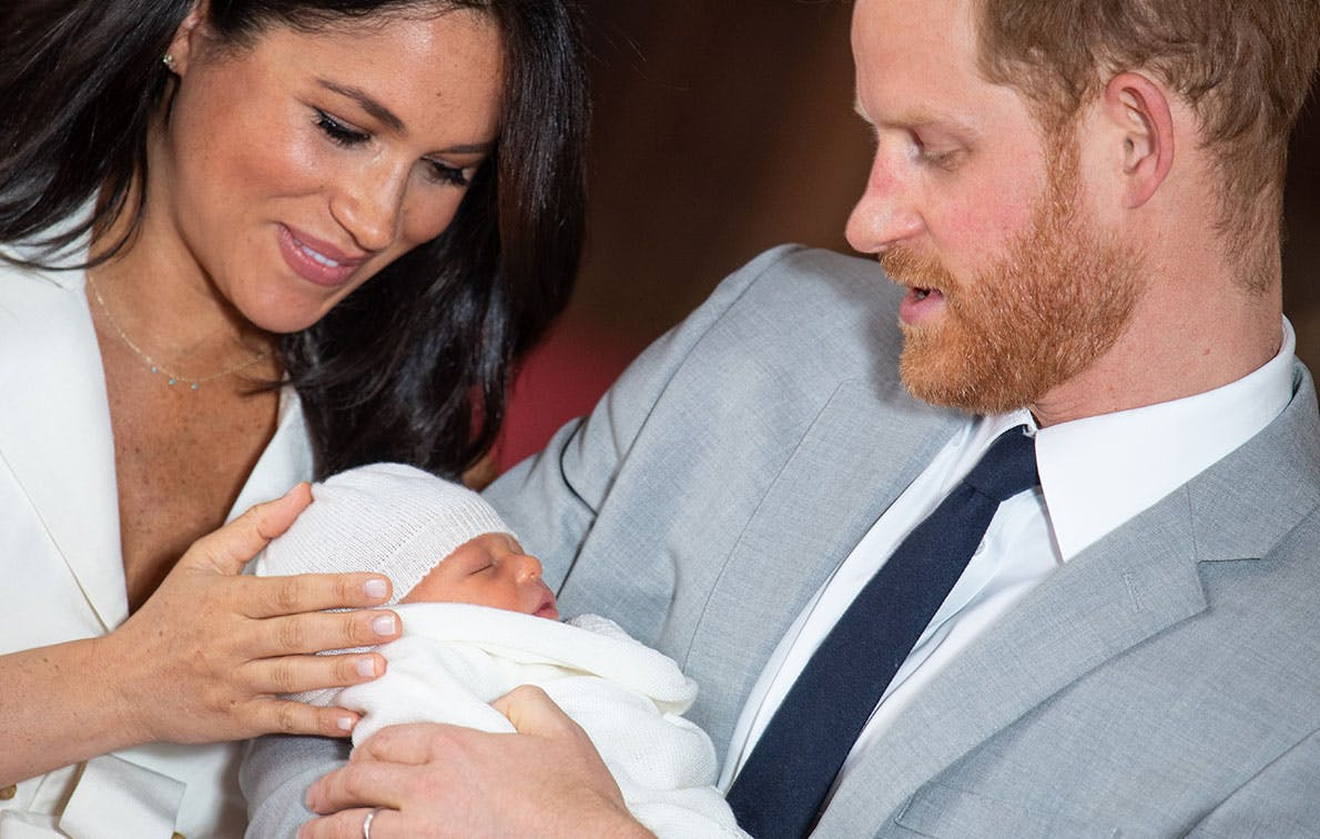 baby archie meghan harry may 8