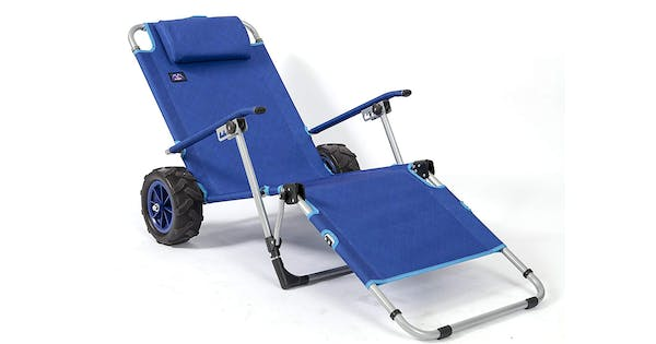 This Beach Chair Can Transform into a Wagon & We Need It For Summer