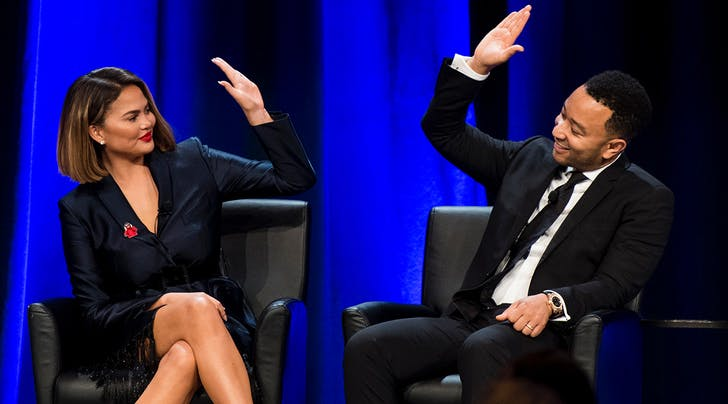 It Wasn't Exactly Love at First Sight For John Legend & Chrissy Teigen
