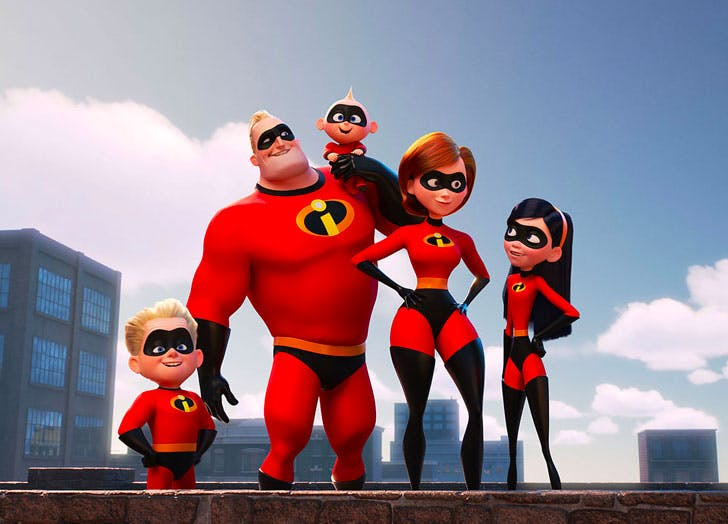family movies incredibles 2
