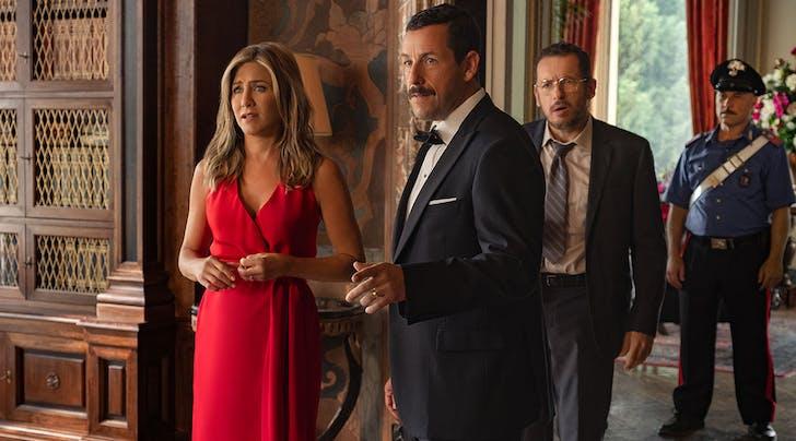 You Won't Believe How Many People Watched Jennifer Aniston & Adam Sandler's New Netflix Film 'Murder Mystery'