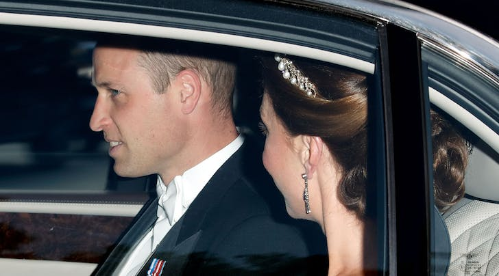 Kate Middleton and Prince William Reportedly Had a Secret Meeting After Mondays Royal Banquet