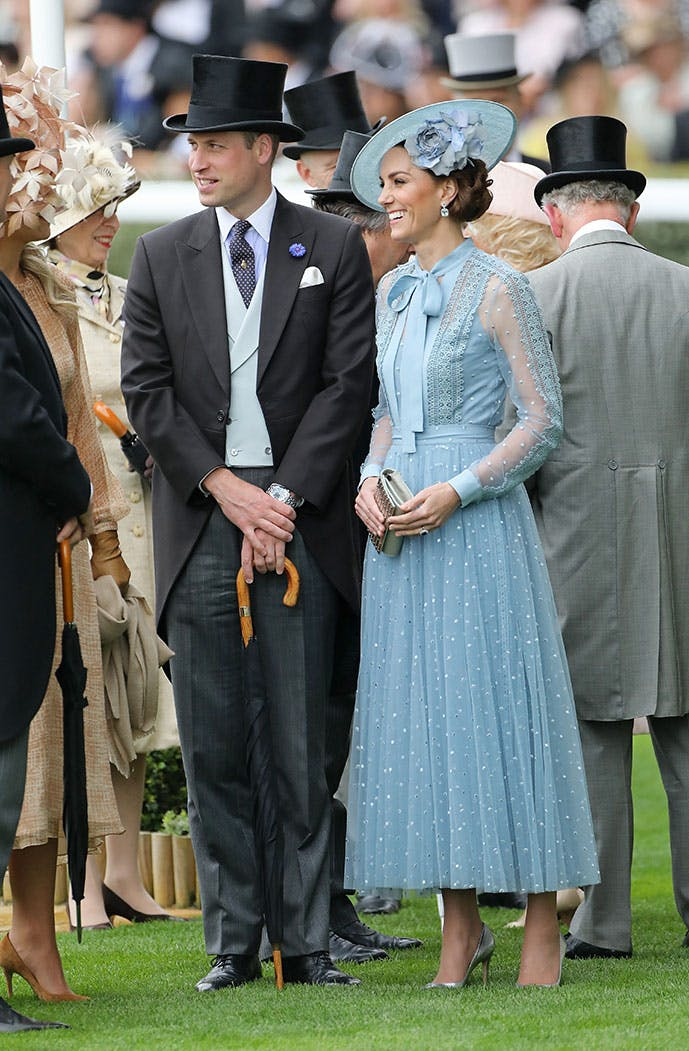 kate middleton royal ascot william