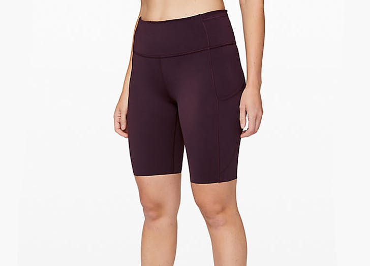 lululemon fast and free short 10 inch