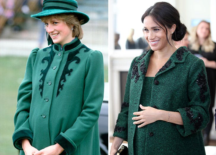 Every Time Meghan Markle Took Style Cues From Princess Diana Purewow
