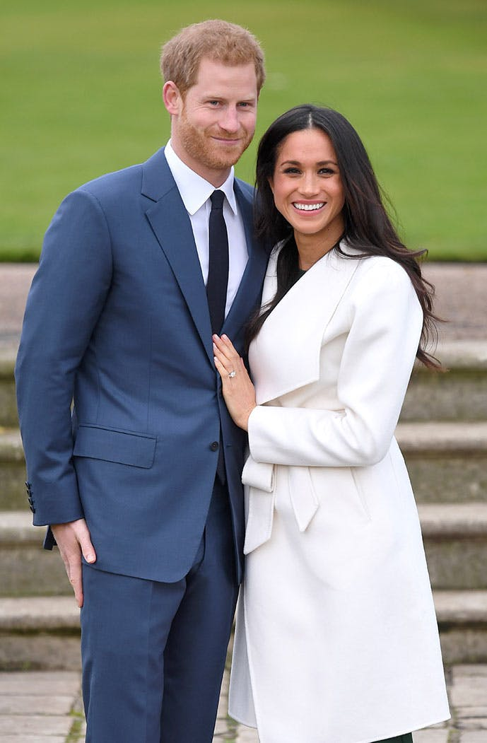 meghan markle engagement ring photo call