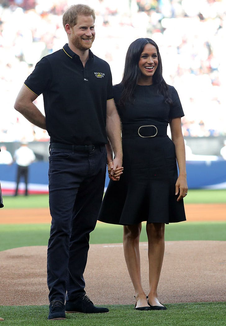 meghan markle prince harry mlb