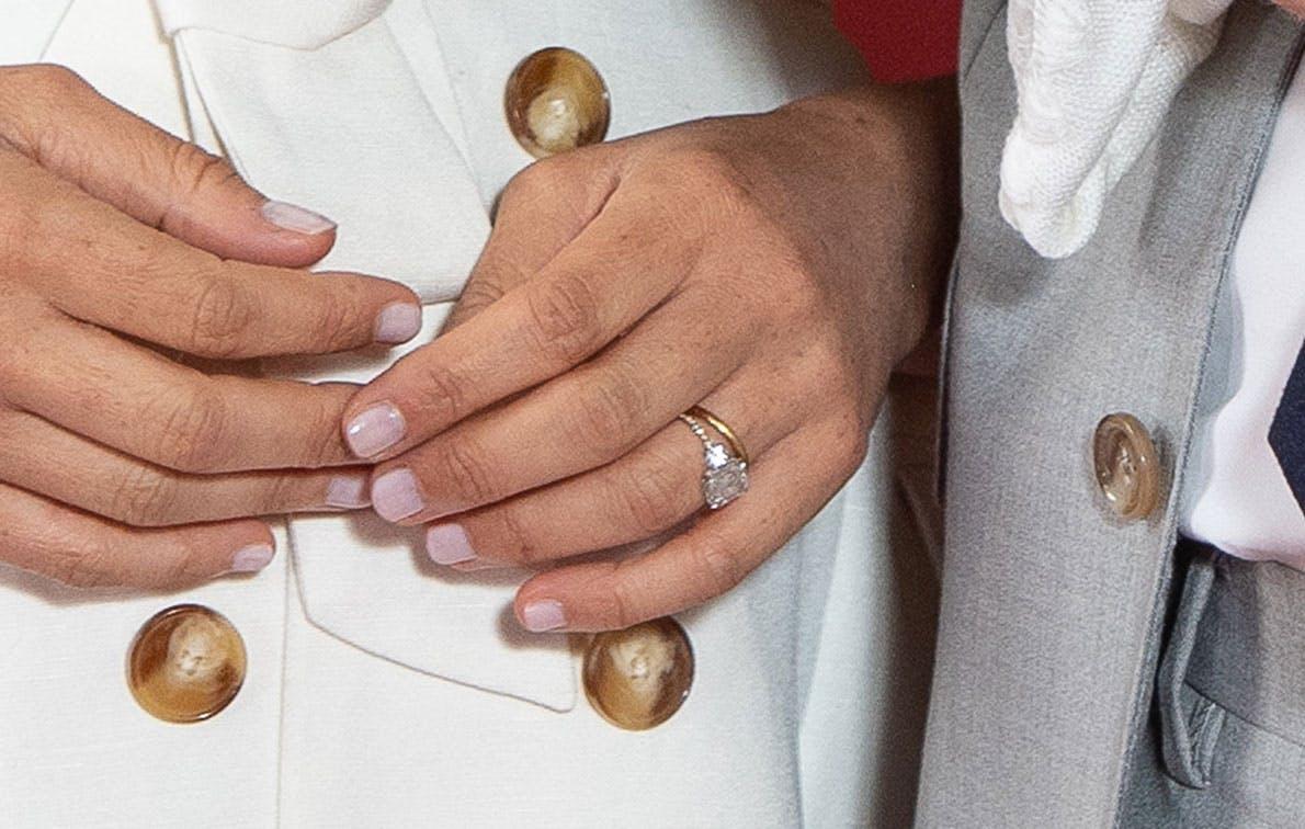 Meghan Markle Updated Her Botswana Diamond Engagement Ring from