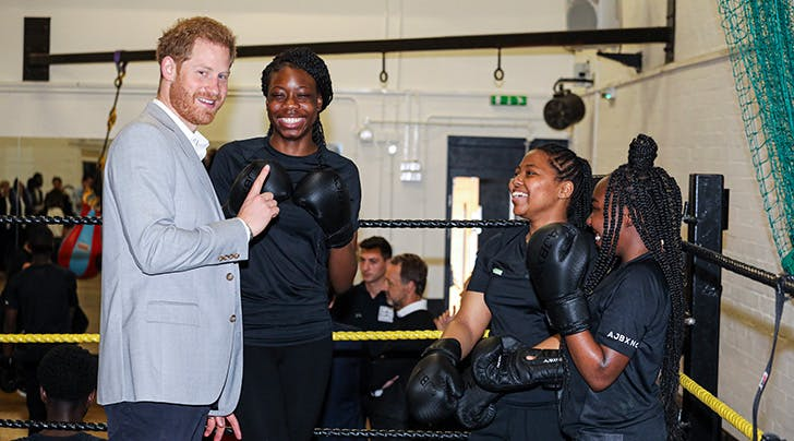 Prince Harry Just Got Into the Boxing Ring (but Don't Worry, It's for a Really Great Cause)