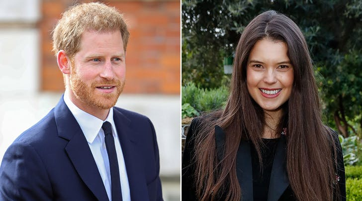 Uh, You Guys? Prince Harry Was Dating a Model When He Met Meghan Markle