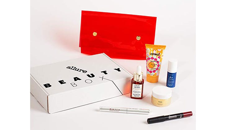 skincare subscription box allure beauty box