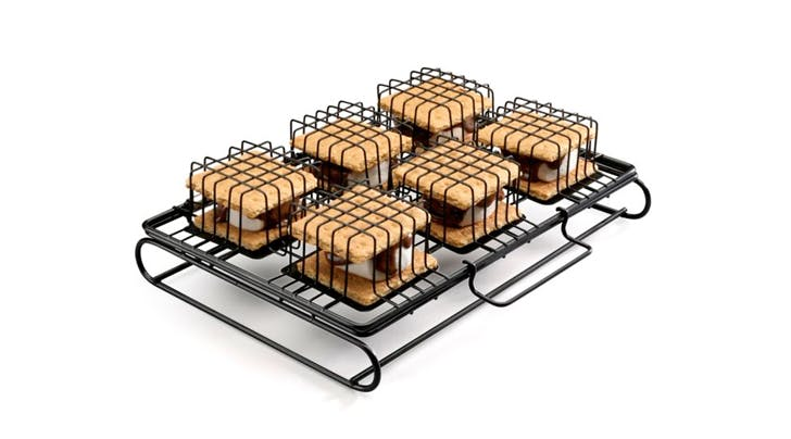 This S'more 'Cage' Holds 6 S'mores at Once (and Can Be Used in an Oven)