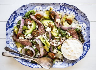 steak salad recipes 400