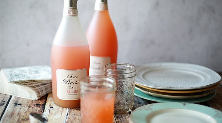 Trader Joe's Secco Peach Bellinis Are Our Signature Summer Drink (and They're $6 a Bottle)