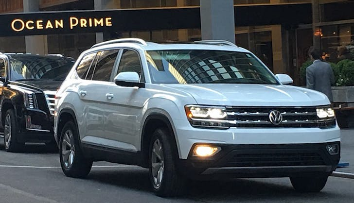 vw atlas car