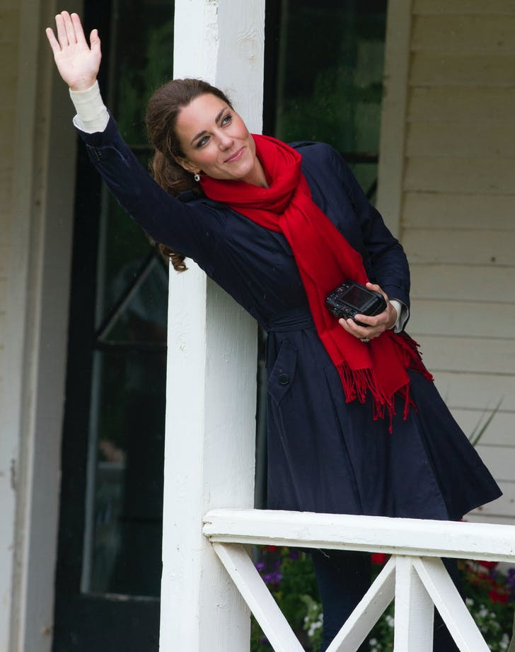 Kate Middleton with a camera