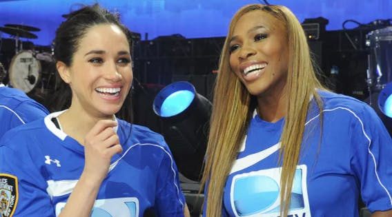 Serena Williams Says This Is What It's Really Like Being Friends with Meghan Markle
