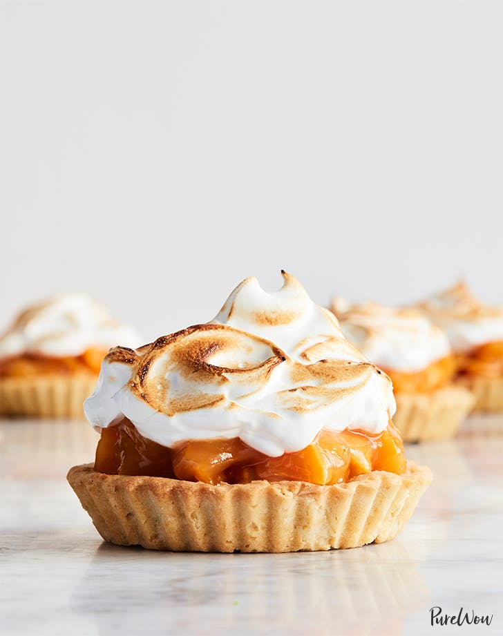Mini Apricot Meringue Pies