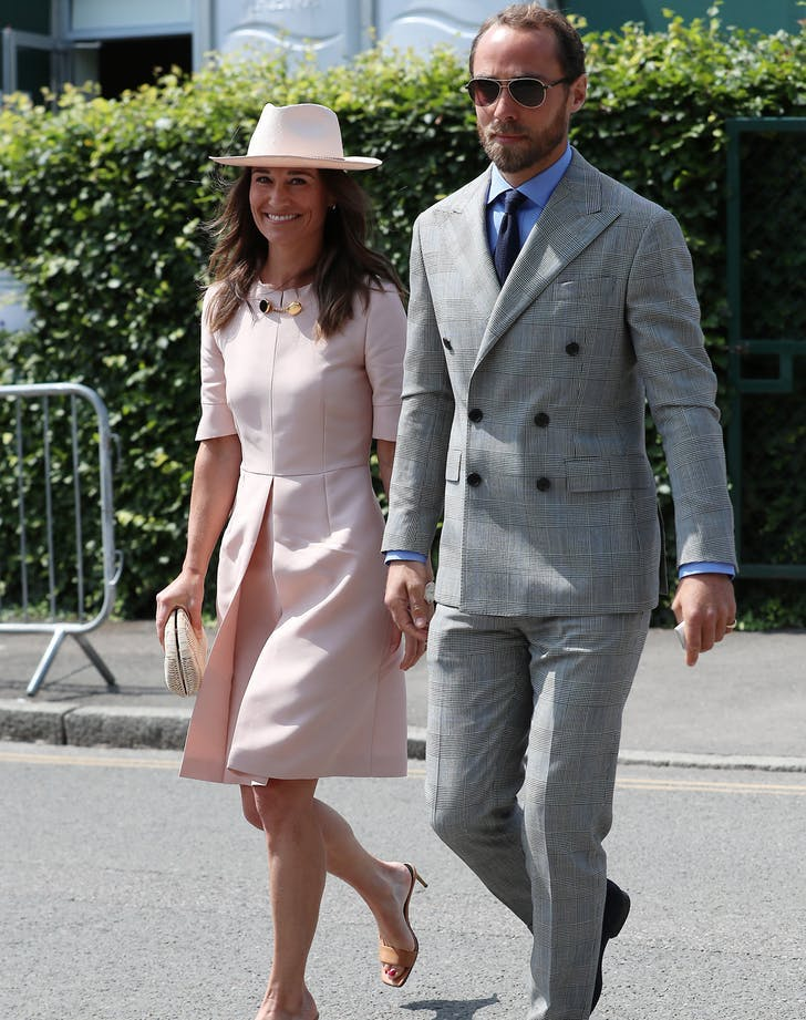 Pippa Middleton james middleton wimbledon1