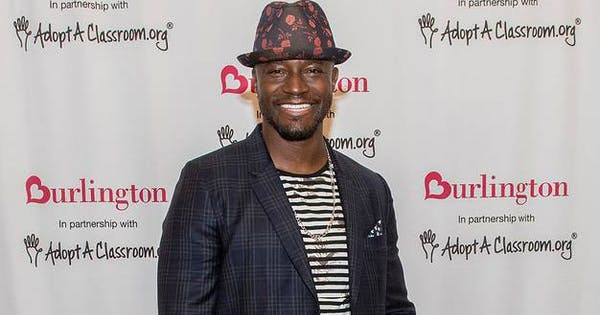 I Asked Taye Diggs for Parenting Advice & His Response Blew My Mind