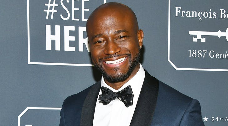 Exclusive: Taye Diggs Refuses to Get Dirty (or Wet) on Camera, Thank You Very Much
