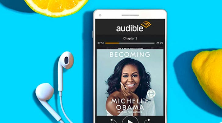 Have You Heard? Audible Subscriptions Are 66% Off During Amazon Prime Day