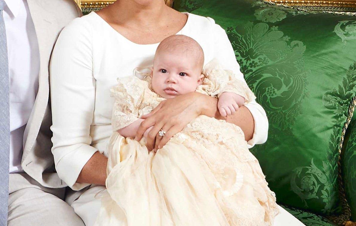 archie harrison baby christening