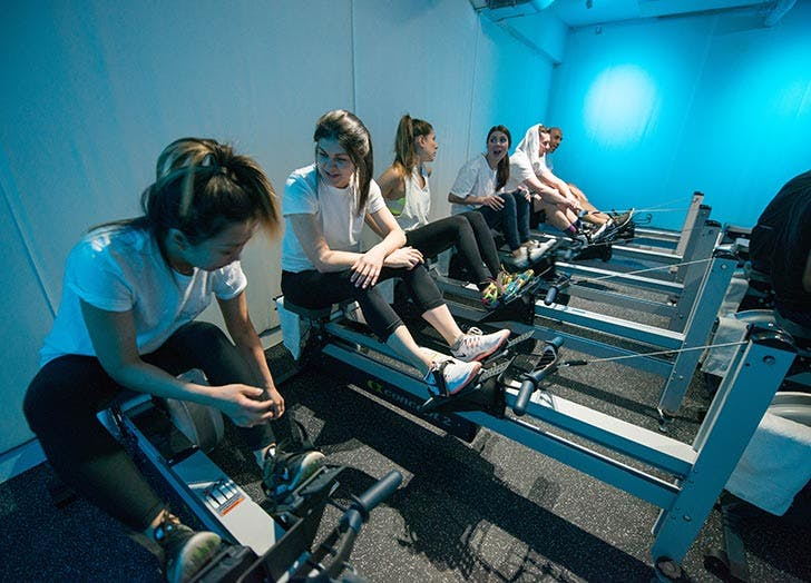 best nyc workout studios current rowing