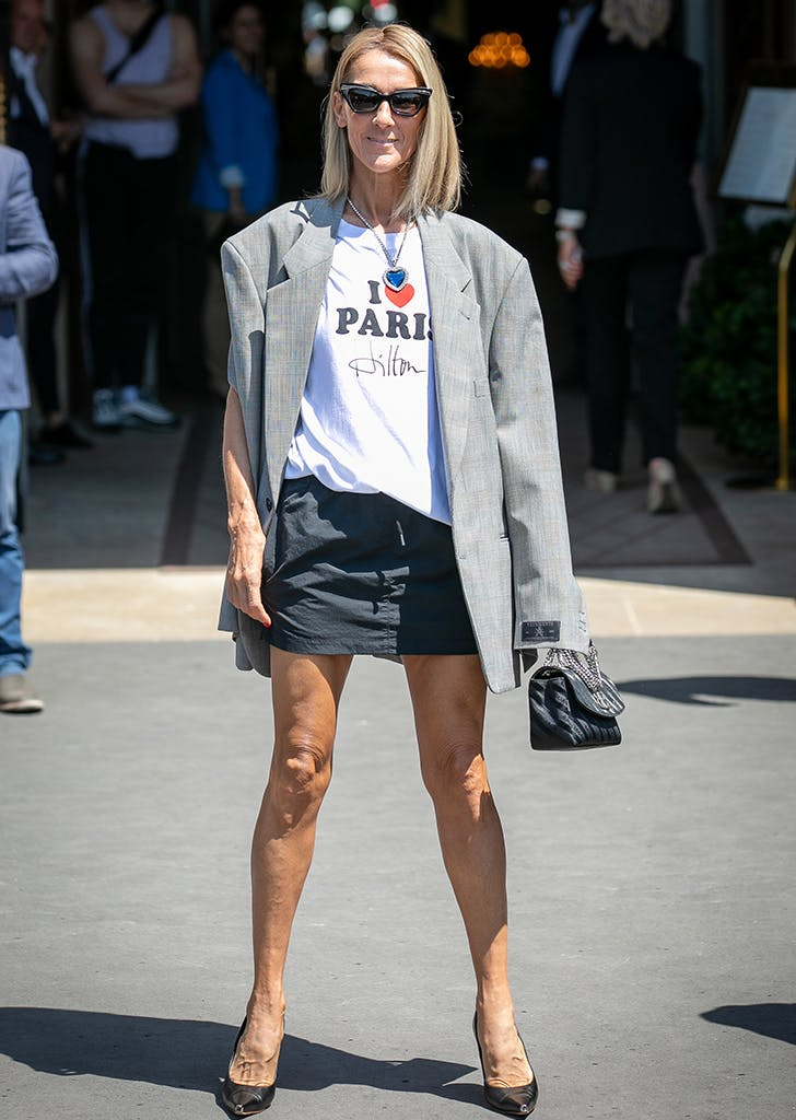 Céline Dion Wears Wacky Tribute to This Reality Star