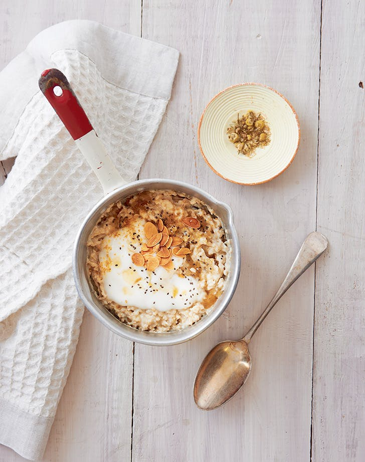 Chamomile and Maple Porridge