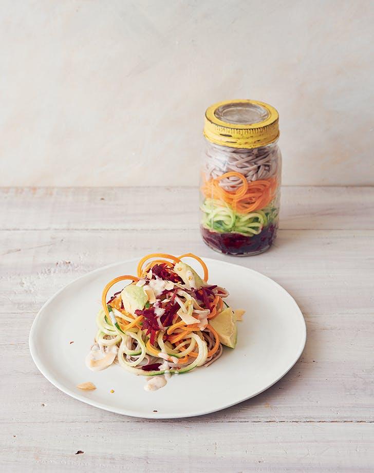 Colorful Peanut Noodle Jar