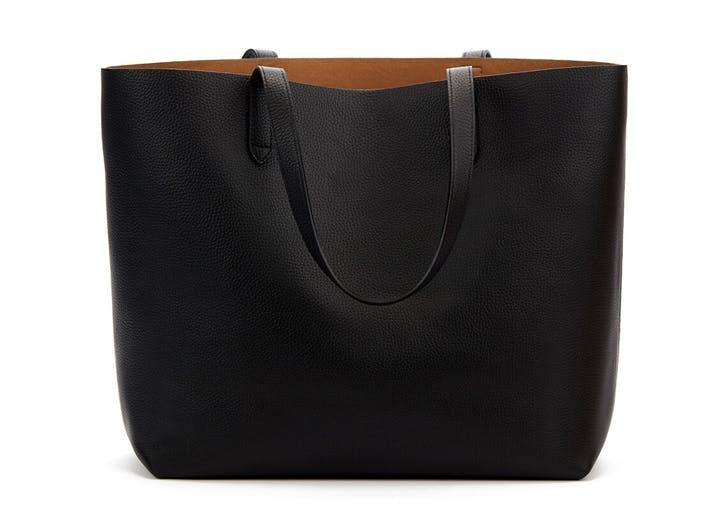 cuyana black tote