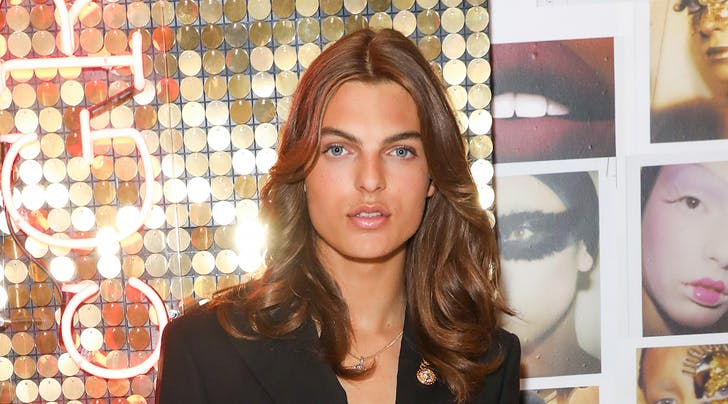 c63bd9abef Elizabeth Hurley's Son Recreated Her Versace Look - PureWow