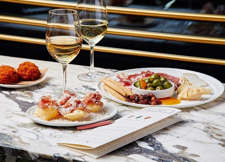 first date restaurants nyc vini e fritti