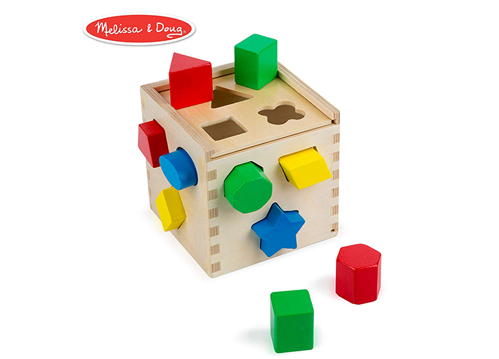 3 Best for 2 Melissa /& Doug Natural Play Early Learning 10 Stacking /& Nesting Cardboard Blocks and 4 Year Olds Great Gift for Girls and Boys