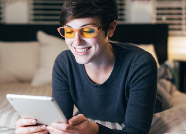 home remedies for insomnia yellow glasses