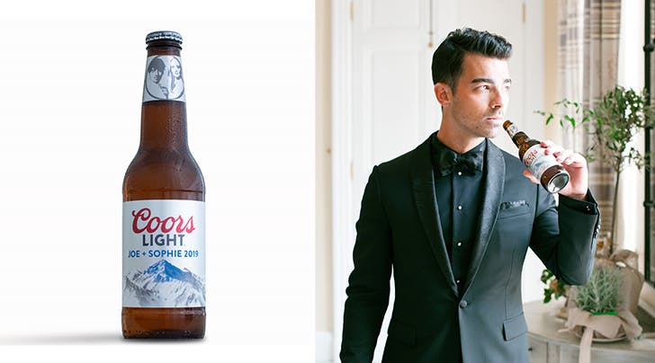 Joe Jonas & Sophie Turner Created a Custom Beer for Their Wedding (Because Why Not)
