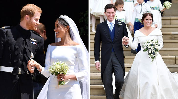 Meghan Markle and Princess Eugenie's Weddings Just Broke 2 Major Royal Family Records