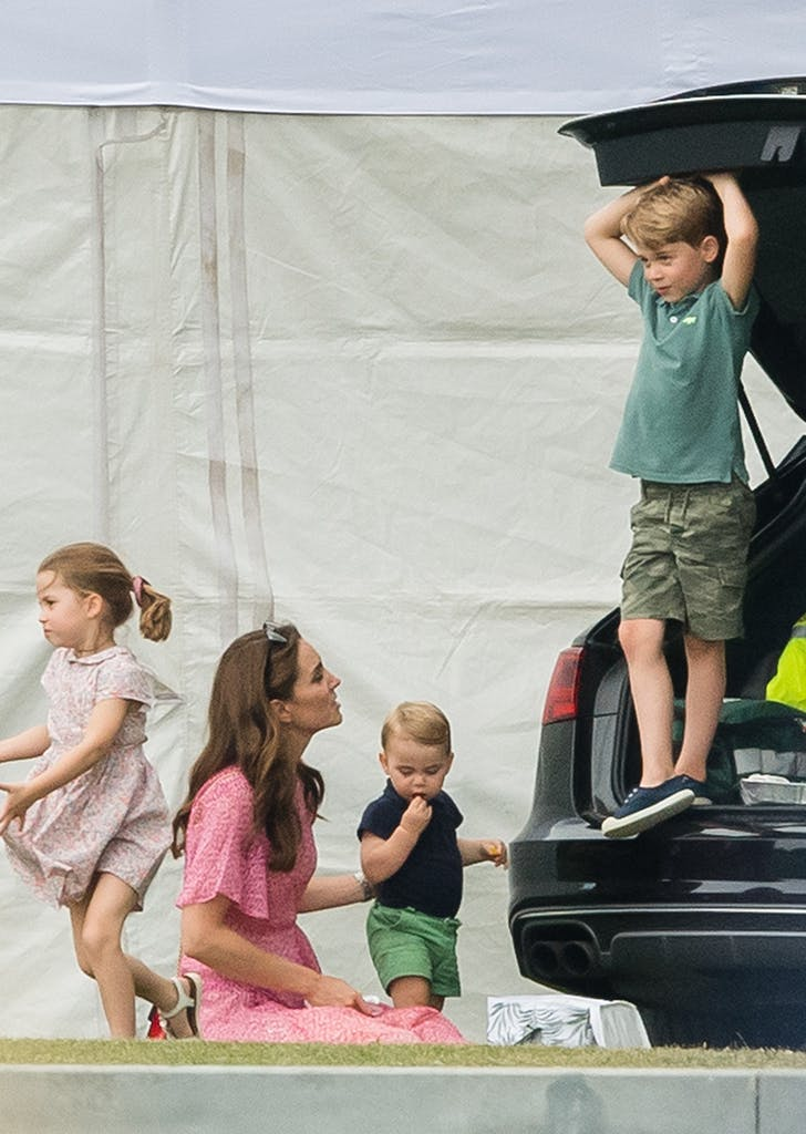 prince george charity polo match car