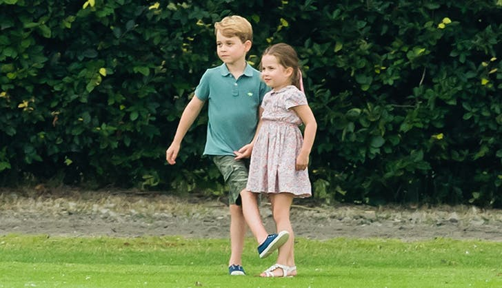princess charlotte marie chantal dress polo match