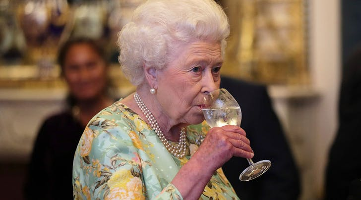Queen Elizabeth Says She Doesn't Drink Wine, and Here's Why We're Not Convinced