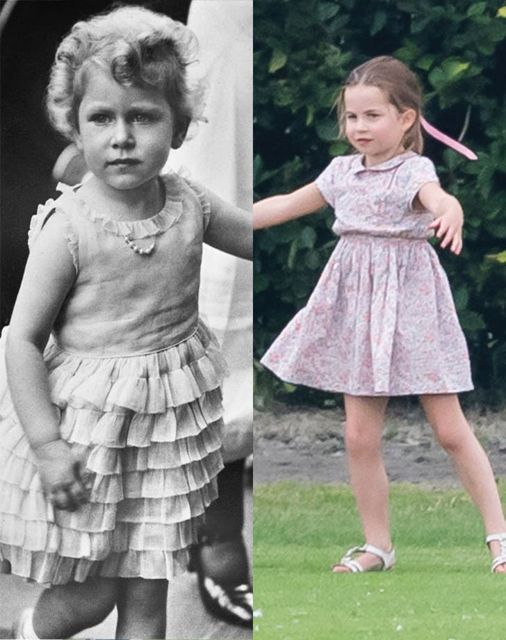 queen elizabeth princess charlotte comparison copy