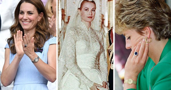 The Most Spectacular Royal Engagement Rings, from Princess Diana to Grace Kelly