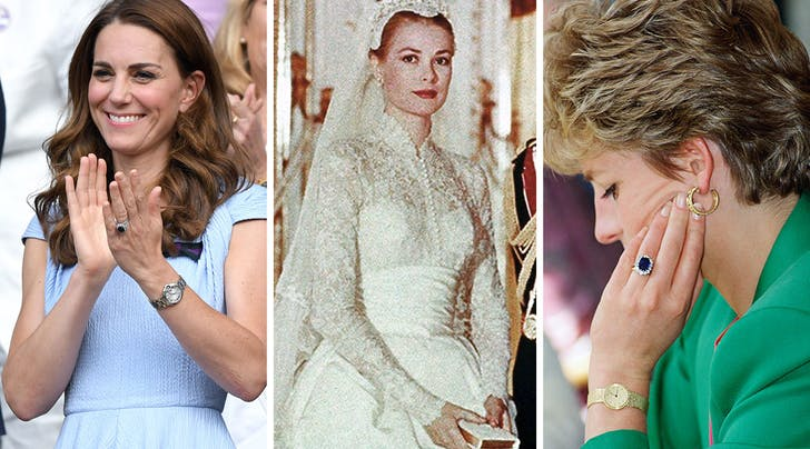 all the royal engagement rings from princess diana to grace kelly purewow all the royal engagement rings from