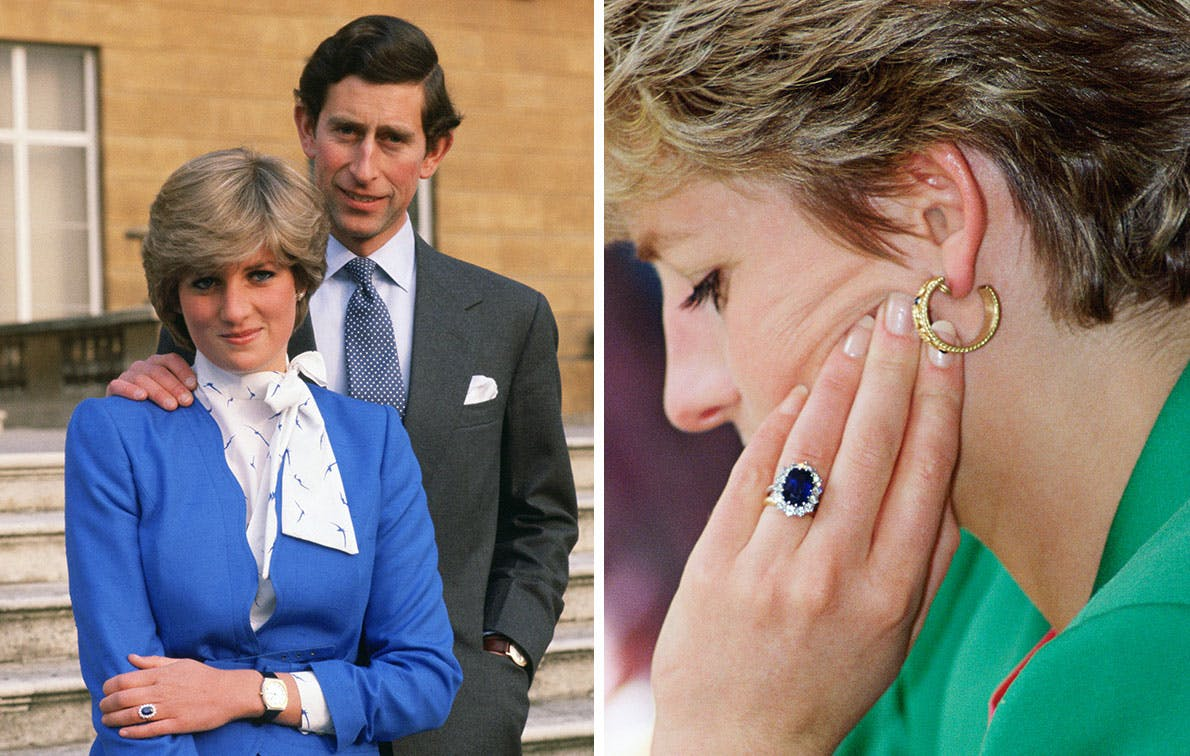 All The Royal Engagement Rings From Princess Diana To Grace Kelly Purewow