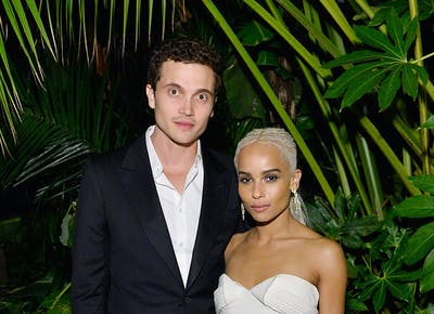 Zoe Kravitz Had The Coolest Wedding Accessories You Have