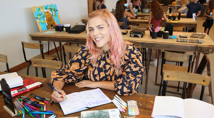 Busy Philipps Explains Her On-Again, Off-Again Journey With Pink Hair